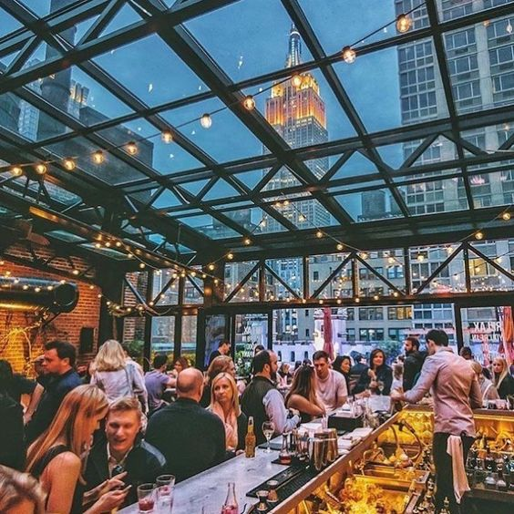 rooftop bars, 10 Rooftop Bars You Need to Try in NYC