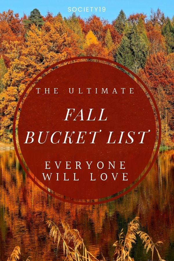 The Ultimate Fall Bucket List Everyone Will Love