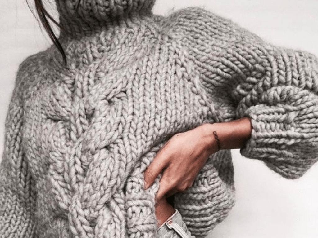 Why You Need A Chunky Knit Sweater This Fall