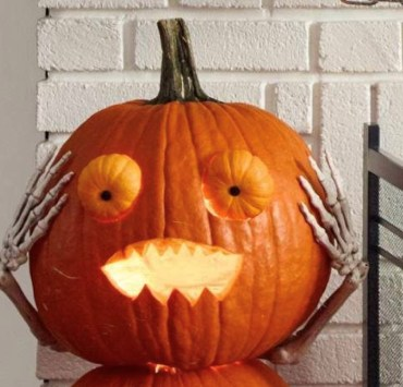 pumpkin, 15 Pumpkin Designs That You'll Want To Copy For Halloween This Year