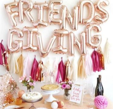 Everything You Need For The Perfect Friends-Giving