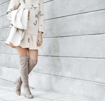 thigh high boots, How To Style Thigh High Boots