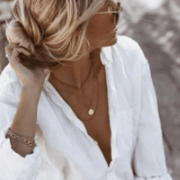 10 Not So Classic White Button-downs We Love For Spring 2020