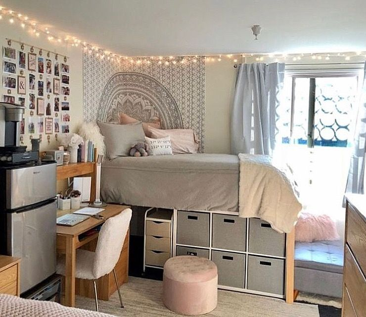 Dorm Room Storage Ideas For Small Spaces