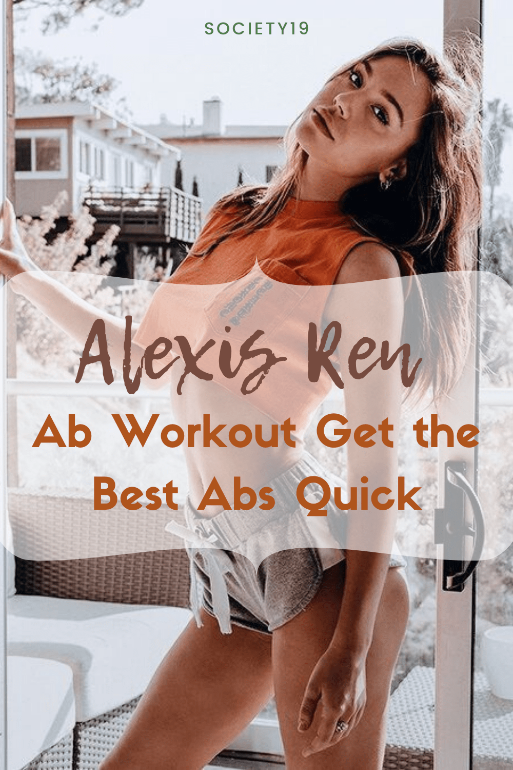 Alexis Ren Ab Workout Get the Best Abs Quick