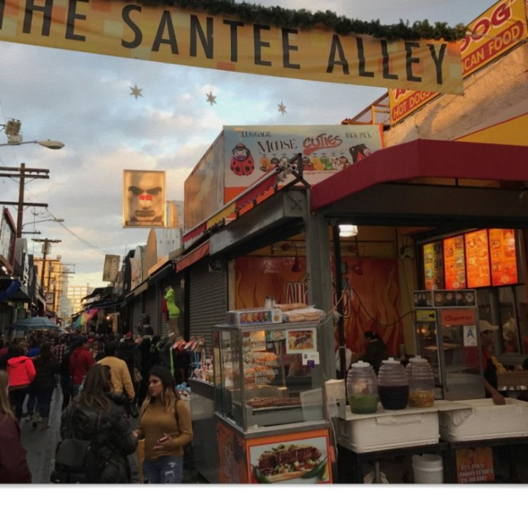 Los Angeles Santee Alley, The Guide to the Los Angeles Santee Alley
