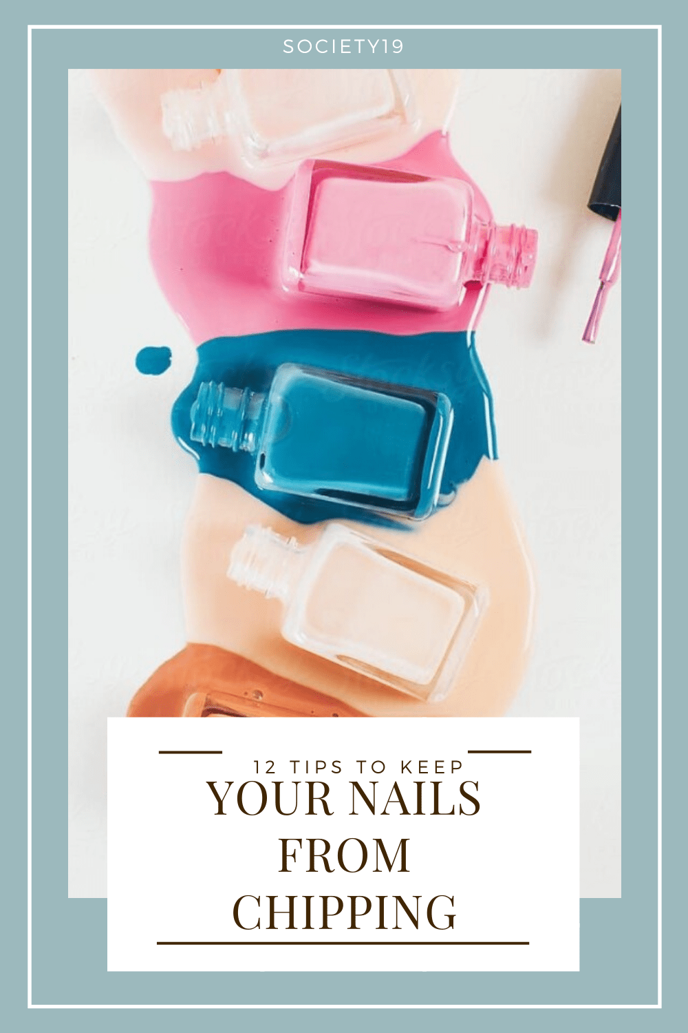 Nails, 12 Tips To Keep Your Nails From Chipping