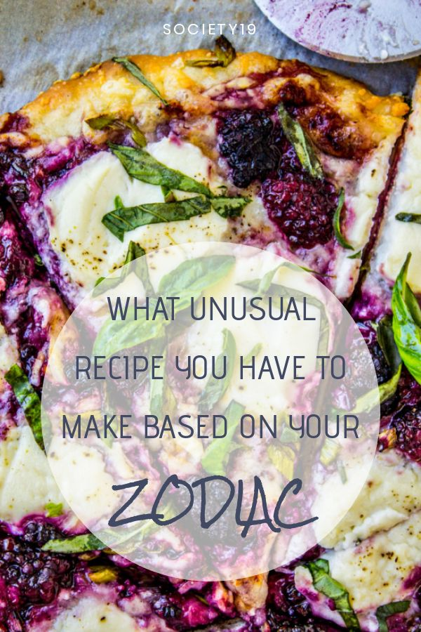 What Unusual Recipe You Have To Make According To Your Zodiac