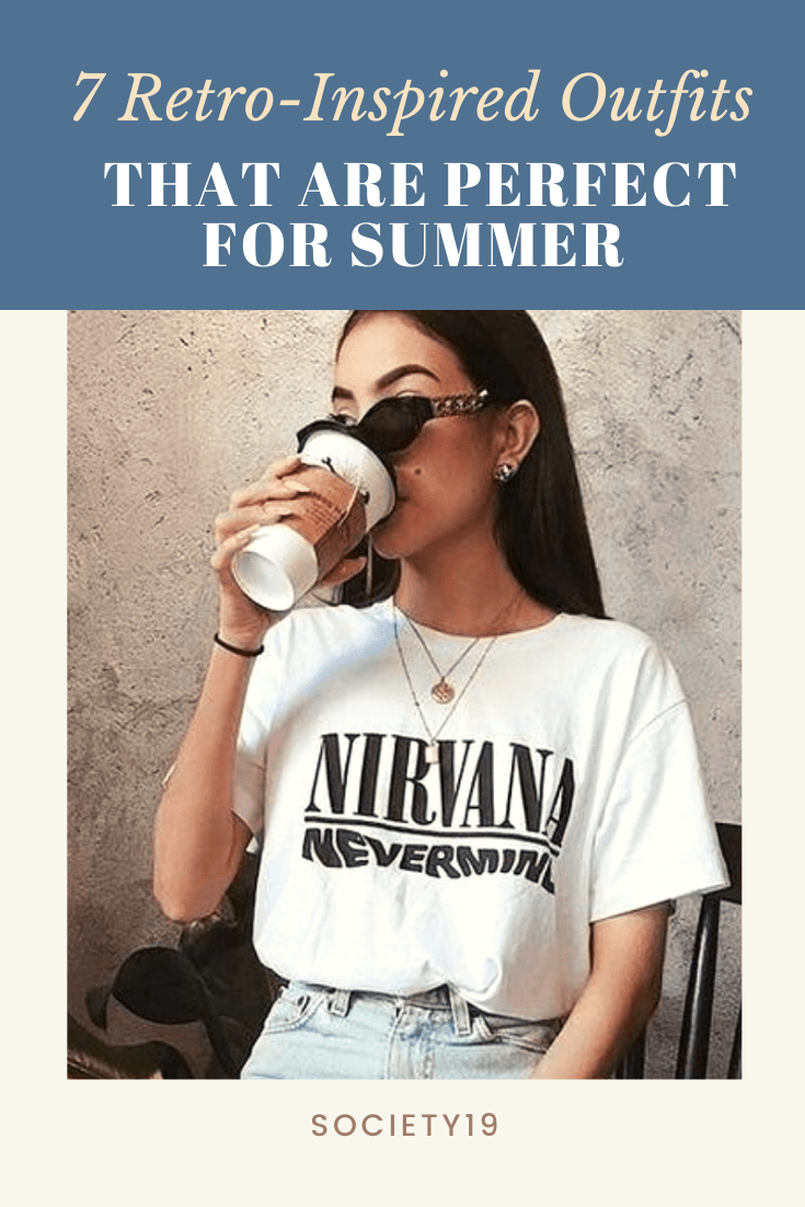 7 Retro-Inspired Outfits That Are Perfect For Summer