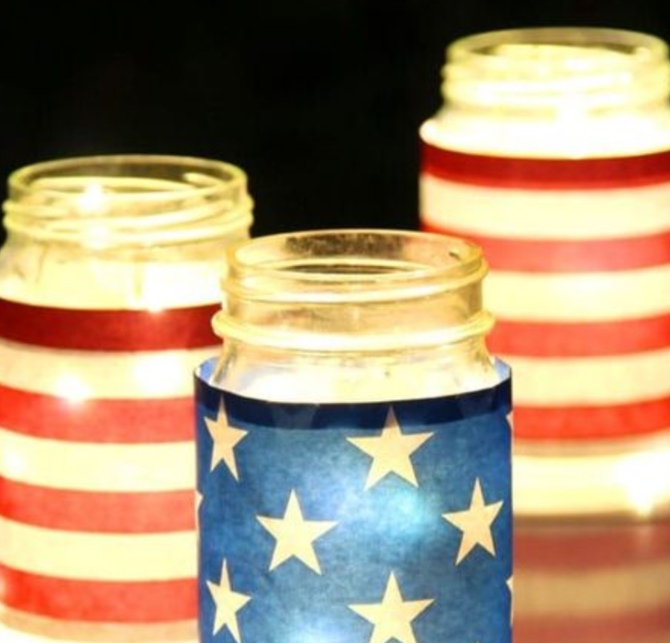 DIY Fourth of July Decorations To Make On A Budget