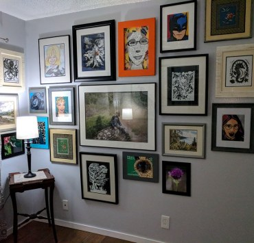 30 Creative Wall Art Gallery Dorm Room Ideas
