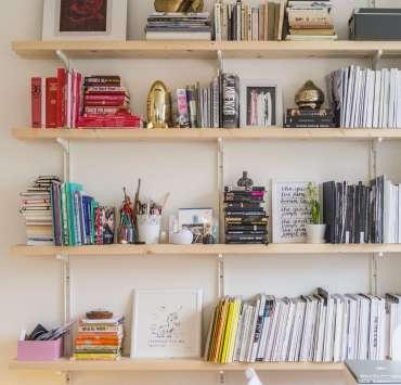 Bookshelf Ideas, 25 DIY Bookshelf Ideas To Brighten Your Dorm Room