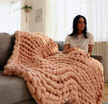 Knit Blanket, Why Everyone Should Learn To Knit Their Own Blanket