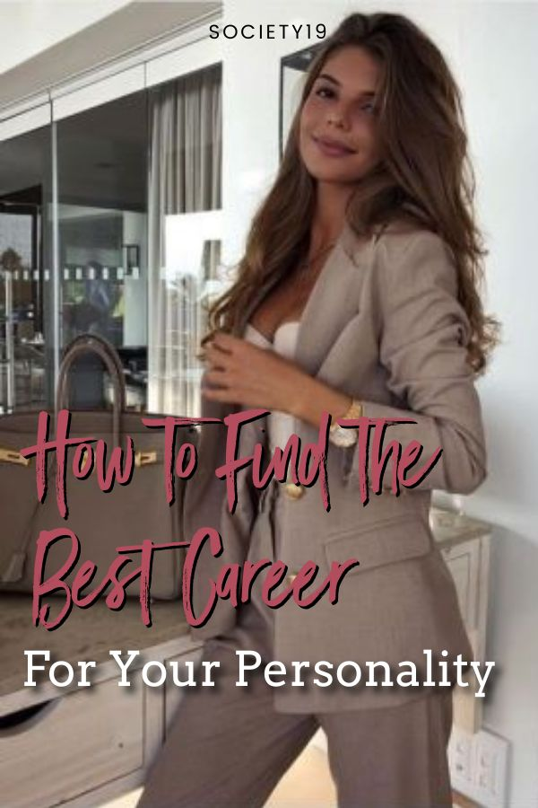 How to Find the Best Career For Your Personality