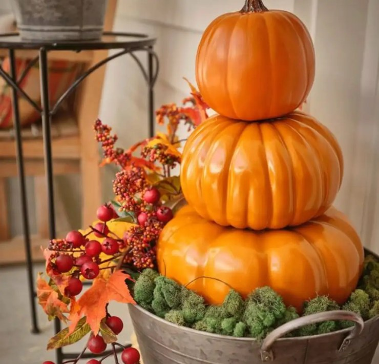 Pumpkins, 10 Ways To Use Pumpkins As Home Decor This Fall