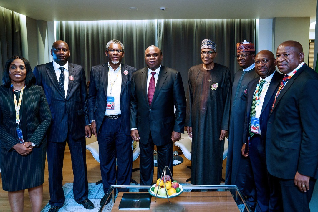 PHOTOS: Buhari, Heritage Bank, Zamfara State, others hold discussion on boosting solid mineral development