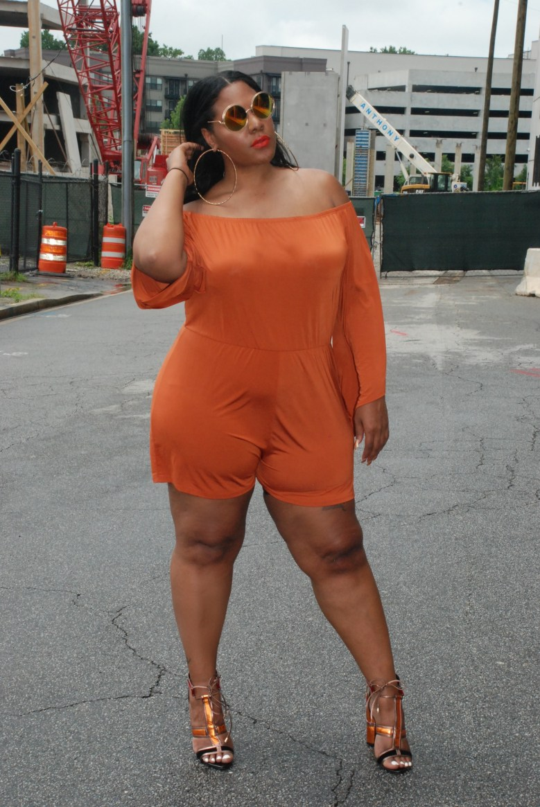 plus size rompers, plus size summer trend , asos, pink clove