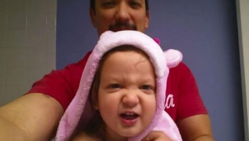 This two-year-old cutest little girl sings heavy metal rendition of the alphabet song better than you ever will!