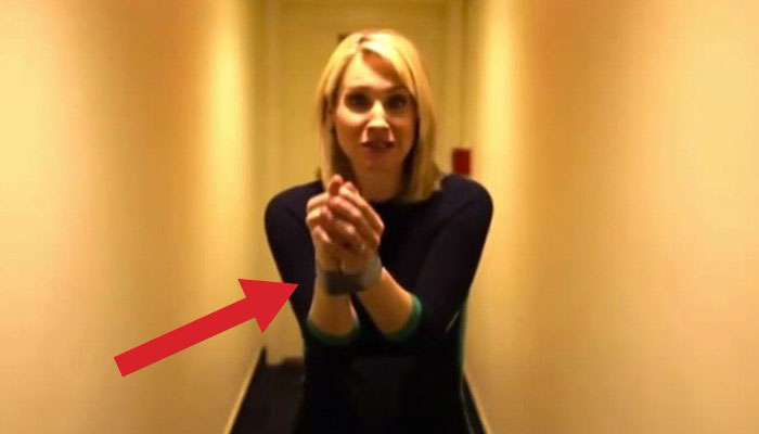 Woman escapes duct tape with this easy trick. You must watch this. It could save your life!