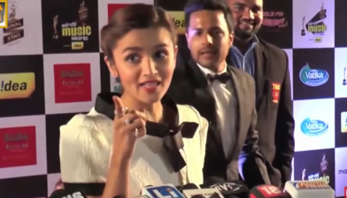 This Reporter Pissed Alia Bhatt Off With General Knowledge Questions. Her Response To Him Is EPIC!