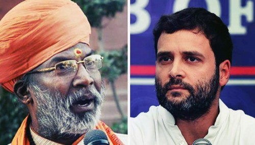 Rahul Gandhi Is The Cause Of Earthquake In Nepal, Says BJP MP Sakshi Maharaj