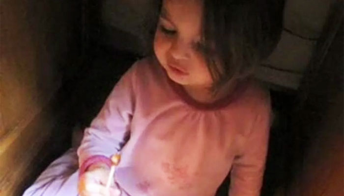 This Cute Little Girl Steals Lollipop And Tries To Hide Evidence In The Cutest Possible Way!
