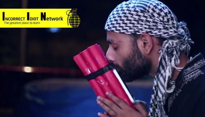 This Spoof Video Shows How A Noob Terrorist Learning To Assemble A Bomb From IIN