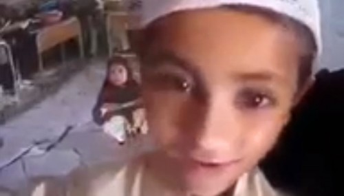 This 8 Year Old Kid Says He Wants To Be A Suicide Bomber, Do Jihad And Kill Kafirs
