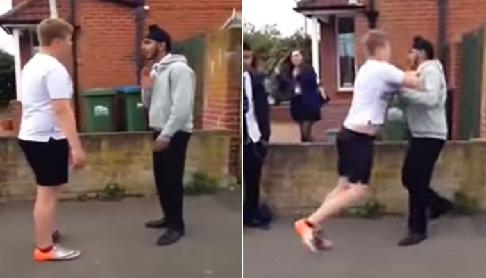 The Way This Sikh Boy Stand Up To A Bully, He Wouldn't Dare To Bully Anyone EVER Again
