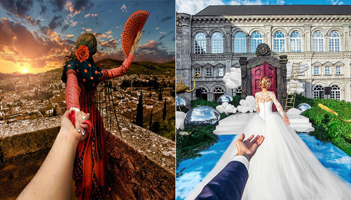 This Man Chased His Girlfriend Around the World, Finally Get Her to Marry Him