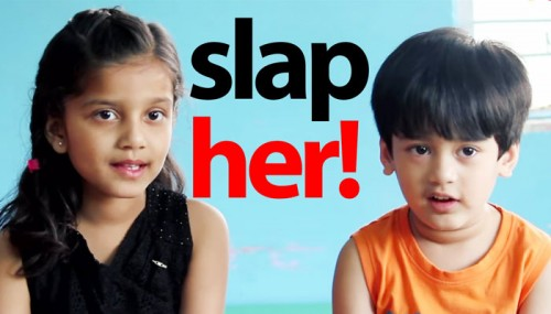 These Young Boys Were Asked To Slap A Girl. What They Did Is Incredible!