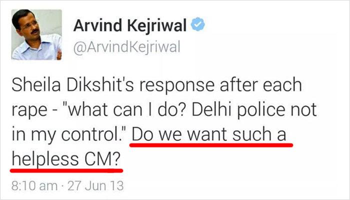 Arvind Kejriwal Gets Trolled on Twitter After Making Witty Remark on Girl Murder