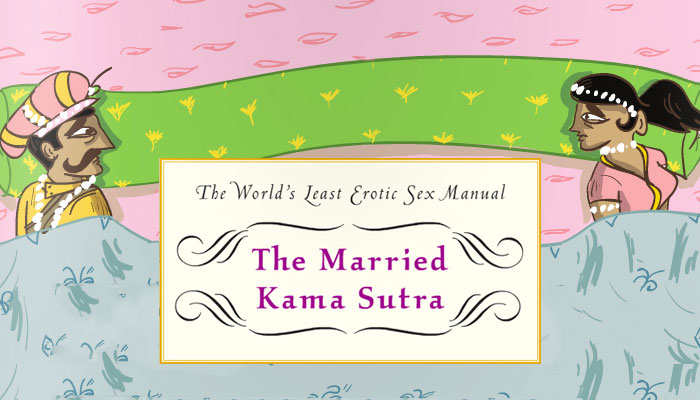The Married Kama Sutra Shows Most Common Poses & Positions for Married Couples