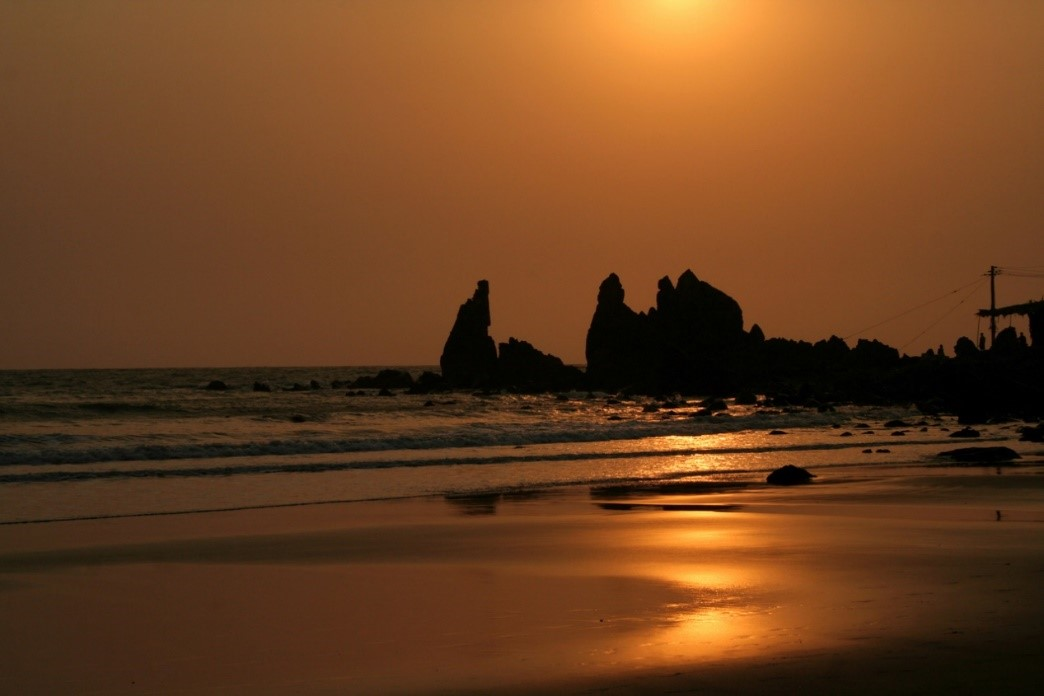 4. Arambol Beach, Goa