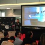 Elena Martín presenta los resultados de la medición de Sociograph en el Tech Experience en Madrid