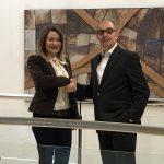 EMG y Pisonero estrechan la mano en el acuerdo de Sociograph e Iberaval