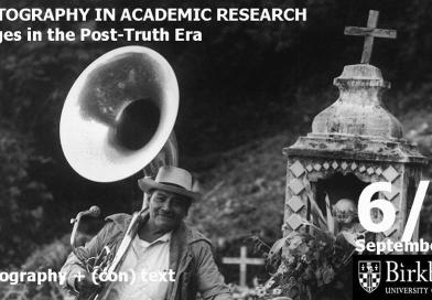 CfP Photography in Academic Research: Images in the Post-Truth Era, UCL, 2018