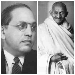 gandhi-ambedkar-similarities