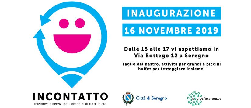 16 Novembre 2019 – Inaugurazione Spazio InConTatto
