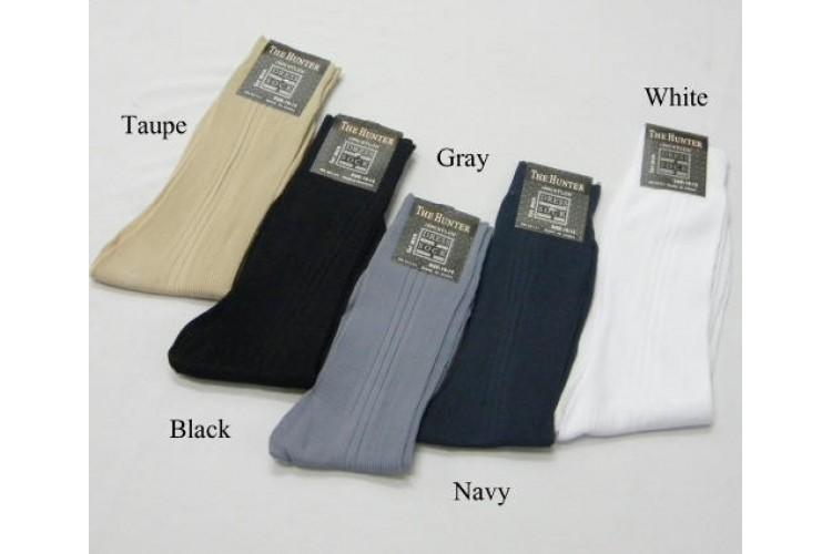 Socks White Dress Nylon Mens