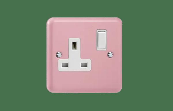 Varilight 13A 插座 rose pink