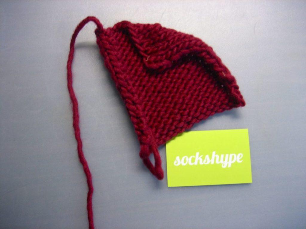 babyschuhe04 babyschuhe stricken Anleitung: Babyschuhe stricken – aus Filzwolle