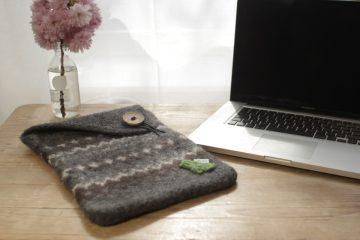 laptoptasche stricken Anleitung: Laptoptasche stricken