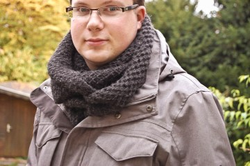 schal stricken Anleitung: Schal stricken für Männer