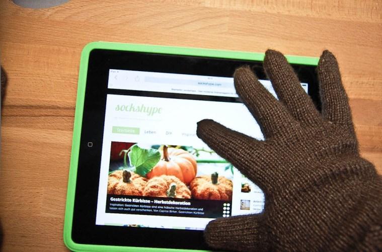 Handy-Handschuhe Anleitung: Handy-Handschuhe stricken kuschelige Smartphone-Technik