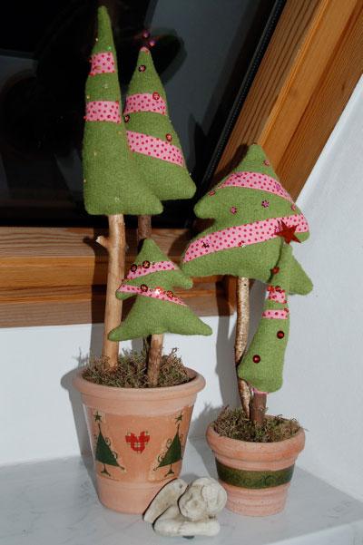 Dekoration für Weihnachten nähen auf sockshype Tannenbaum <b>Oh Tannenbaum ...</b> weihnachtliche Dekoration