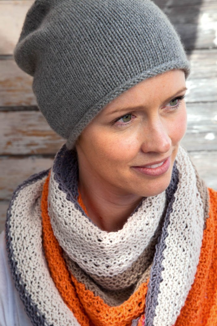 beanie hat knitting pattern by Nina Schweisgut beanie hat Tutorial: Beanie hat knitting pattern