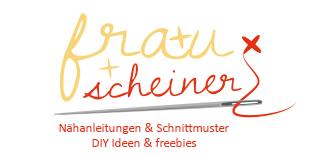Frau Schreiner Logo selber nähen 10 kostenlose Anleitungen: Geschenke selber nähen