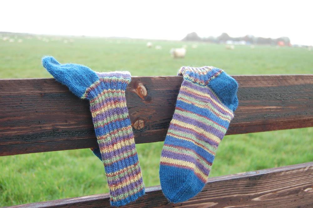Socken stricken Socken stricken Anleitung: Socken stricken in 7 Schritten