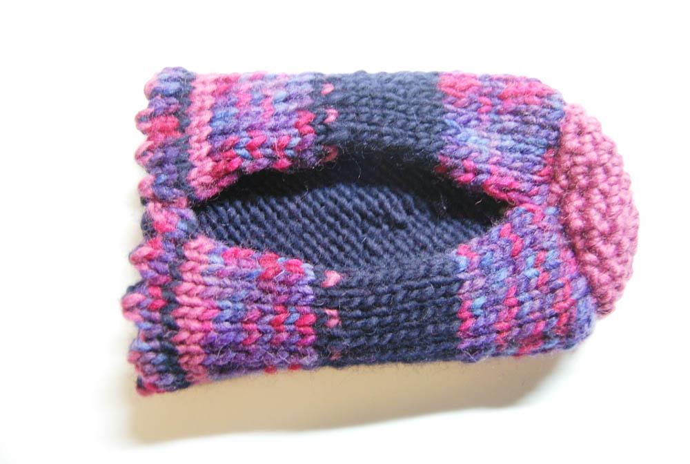Handschuh für Getränke Weg-5 Handschuh für Getränke Anleitung: Handschuh für Getränke stricken